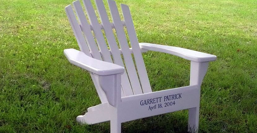 Incroyable Kids Adirondack With Personalized Front